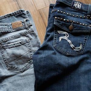 💥 Jean lot size 12 boot cut Rock & Republic